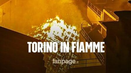 """Torino, incendio alla Cavallerizza Reale: """"Fa male vedere un edificio storico tra le fiamme"""""""