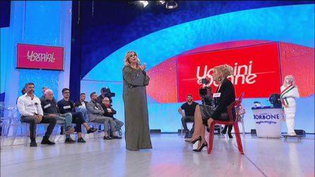 Uomini e Donne: Gemma piange per il matrimonio di Paola e Leoluca