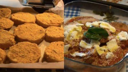 Parmigiana di melanzane al forno: la versione leggera che amerete