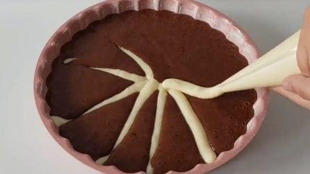 Torta soffice bicolore: bella da vedere e davvero golosa