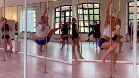 Chiara Ferragni a lezione di pole dance: il video raggiunge 3 milioni di visualizzazioni in 24 ore
