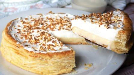 Torta regina cremosissima: il dessert fragrante fuori e morbido dentro