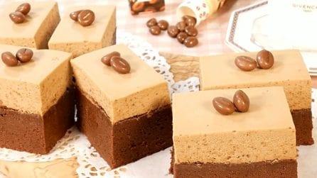 Semifreddo al caffè e cioccolato: il dessert che accontenta tutti i gusti