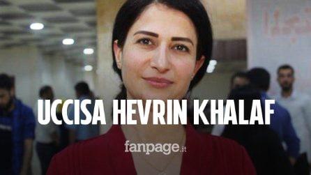 Uccisa in Siria Hevrin Khalaf: l'attivista per i diritti delle donne è stata trucidata in un agguato