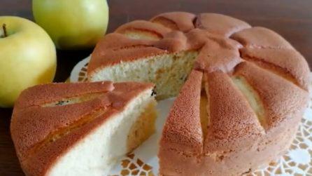 Torta alle mele senza olio, burro e lievito: una vera delizia