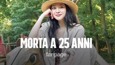 Morta Sulli, la star del K-Pop: si sarebbe tolta la vita a 25 anni, nella sua abitazione