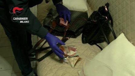 Eroina, cocaina e hashish nascoste tra le pareti di casa: arrestata donna di 60 anni a Bollate