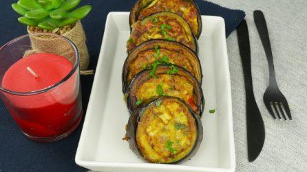 Medaglioni di melanzane all'uovo: si preparano in padella in pochi minuti!
