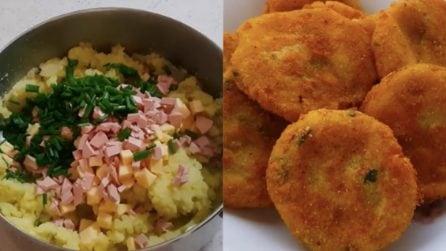 Crocchette di patate e prosciutto: un secondo piatto davvero saporito