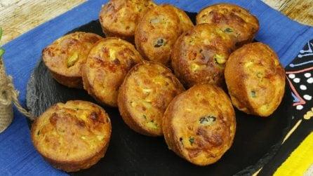 Muffin soffici con le verdure: morbidi e saporiti, non resisterete al loro profumo!