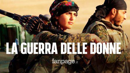"""La lettera delle combattenti curde ai popoli del mondo: """"Alla gente che ama la libertà, aiutateci"""""""