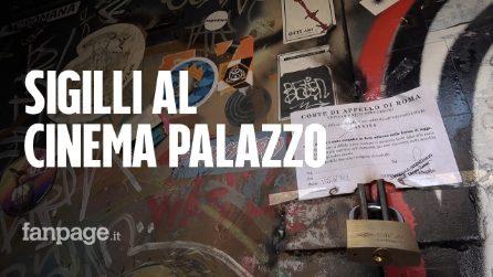 Roma, sfratto al Cinema Palazzo di San Lorenzo: attivisti rompono i sigilli e lo riaprono