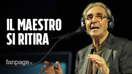 """Franco Battiato si ritira, """"Torneremo ancora"""" sarà l'ultimo album: ma spunta un nuovo inedito"""