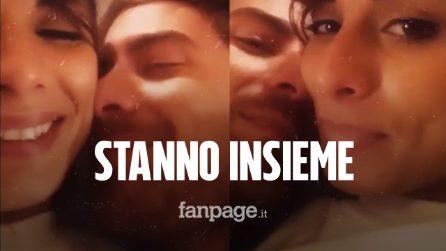 Francesco Sole e Giulia Cavaglià stanno insieme: il bacio è social