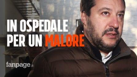 Matteo Salvini in ospedale per un malore: dimesso, le sue condizioni sono buone