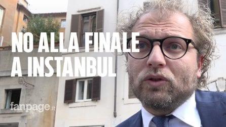 """Turchia, l'ex ministro Lotti: """"Calcio dia un segnale, no a finale di Champions a Istanbul"""""""
