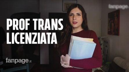 """Roma, professoressa trans licenziata: """"I ragazzi mi adoravano, sono stata discriminata"""""""