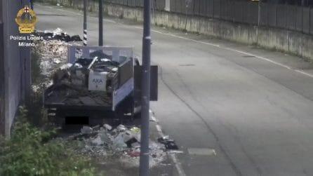Scarico illecito di rifiuti a Milano: sette persone denunciate. Incastrate dalle fototrappole
