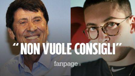 """Gianni Morandi sulla musica del figlio Pietro: """"L'ho scoperto per caso, non vuole i miei consigli"""""""