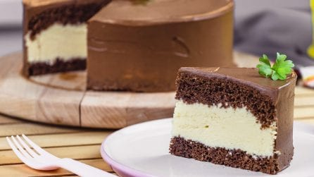 Chocolate and cream cake: the perfect dessert for a special occasion!