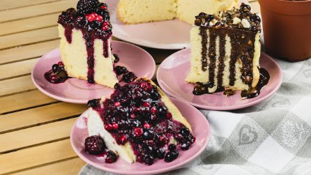 Healthy cheesecake with cottage cheese: the result is mouth-watering!