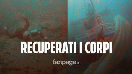 Lampedusa, recuperati i corpi della madre e del neonato morti abbracciati nel naufragio