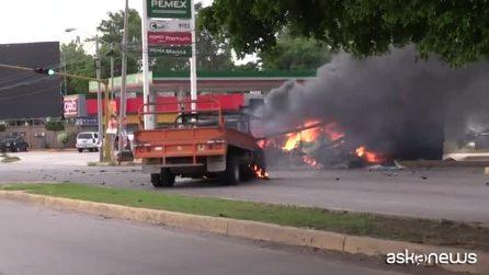 Messico, guerra urbana a Culiacan dopo arresto figlio del Chapo