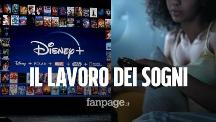 """Il lavoro dei sogni: """"Vi paghiamo 1000 dollari per guardare 30 film Disney in 30 giorni"""""""