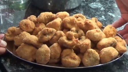 Champignon fritti e croccanti: un contorno che accontenterà tutti i gusti