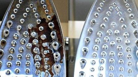 Come pulire il ferro da stiro in maniera naturale ed efficace