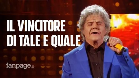 Tale e Quale Show, trionfa Agostino Penna: classifica finale e chi andrà al Torneo dei Campioni