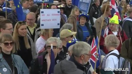 Brexit, a Londra manifestazione per chiedere secondo referendum