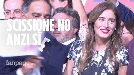 """Quando Boschi diceva: """"Falso che alla Leopolda lanceremo un nuovo partito"""""""
