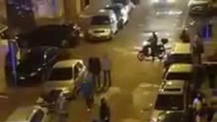 Napoli, rissa al Vasto: 20 stranieri si picchiano in strada