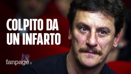 Giorgio Tirabassi ha avuto un infarto: le condizioni dell'attore romano