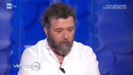 Paolo Vallesi a Vieni da me parla del suo cancro