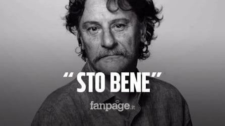 """Giorgio Tirabassi tranquillizza tutti dopo l'infarto: """"Sto bene e sono in buone mani"""""""