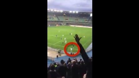 Balotelli, spunta il video dei cori razzisti sugli spalti del Bentegodi