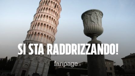 """La Torre di Pisa si sta """"rialzando"""": recuperati 4 centimetri in 20 anni"""