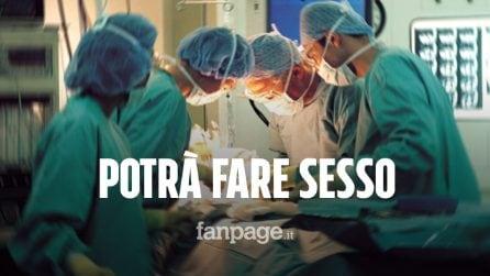 Napoli, grazie a una protesi potrà fare sesso: il primo intervento in Italia