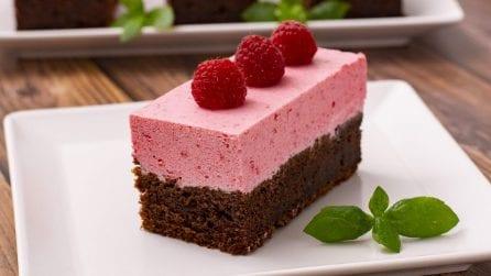 Torta cioccolato e lampone: la combinazione che vi lascerà a bocca aperta!