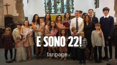 """La famiglia più numerosa d'Europa si allarga, in arrivo il figlio numero 22: """"Non ci fermiamo"""""""
