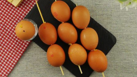 Spiedini di uova sode: un modo unico e originale per prepararle!