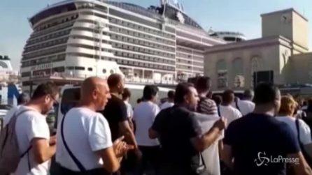 Whirlpool, ancora proteste a Napoli: operai in corteo da Piazza Municipio al Porto