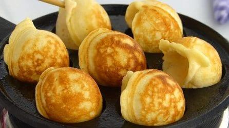 Bombe di pancakes senza uova: belle, buone e semplici da preparare