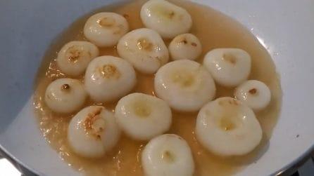 Cipolline in agrodolce: una ricetta semplice e davvero saporita