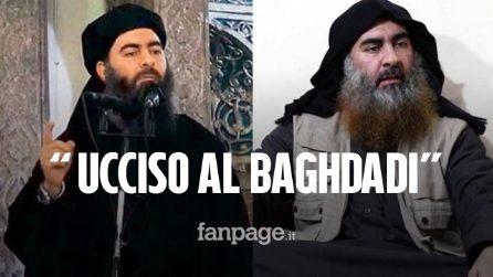 """Morto Al-Baghdadi, il capo dell'Isis: """"Ucciso durante un raid delle forze speciali americane"""""""