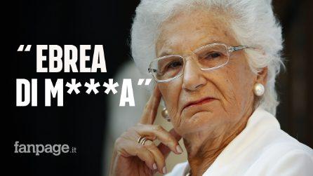 """""""Ebrea di m***a"""", oltre 200 insulti al giorno contro Liliana Segre, sopravvissuta ad Auschwitz"""