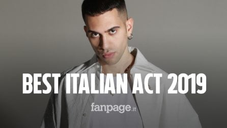 Mahmood ha vinto il premio come Best Italian Act agli Mtv Ema 2019
