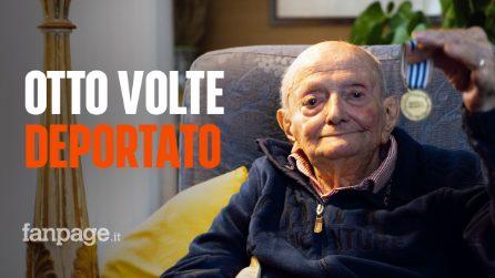 """Milano, il 98enne Giuseppe e gli orrori del nazismo: """"Io, deportato in otto campi di prigionia"""""""